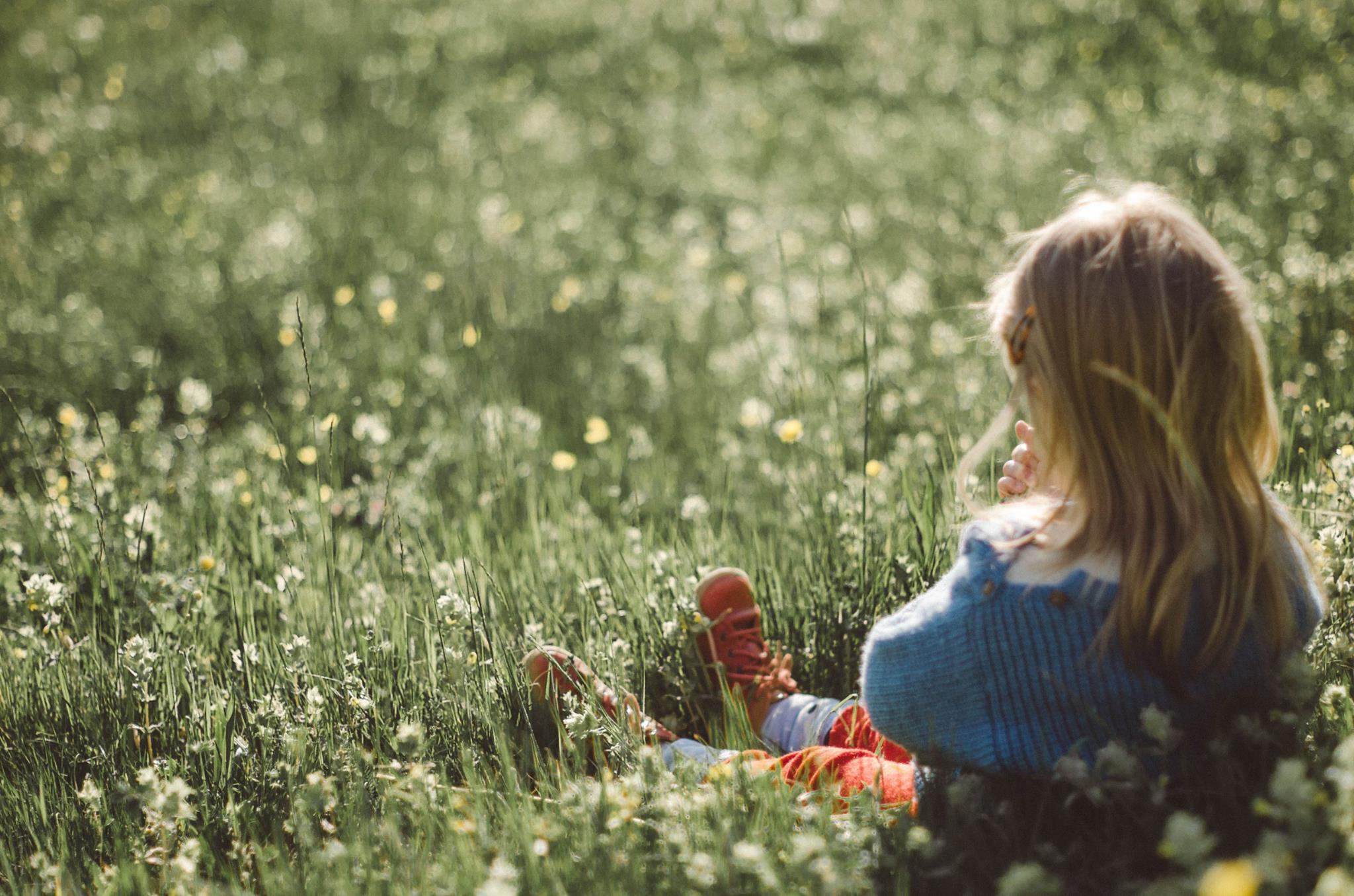 Kinderfotoshooting im Freien