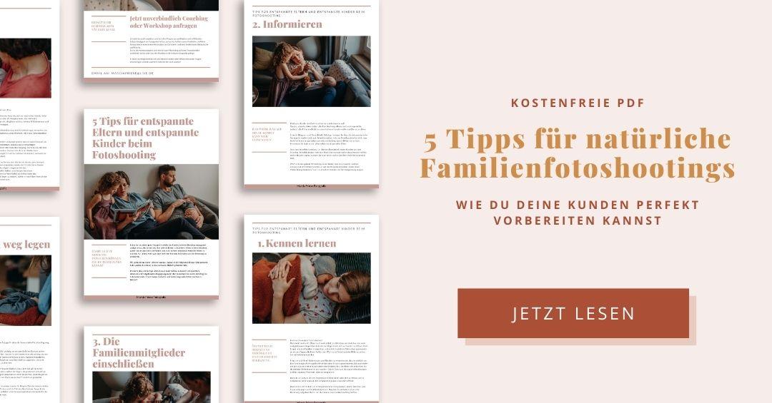 5 Tipps wie du deine Kunden auf ihr Familienfotoshooting vorbereiten kannst