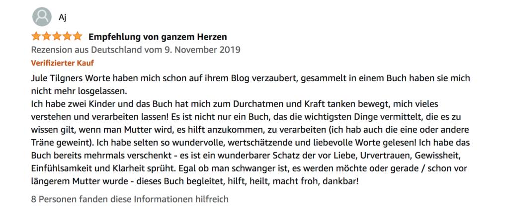 Buchrezension Mutter werden, das Wochenbett Buch, Fotografin Freiburg