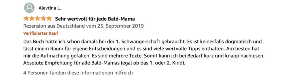 Rezension: Mutter werden, das Wochenbett Buch, Geschenk für Schwangere, Fotografin Freiburg
