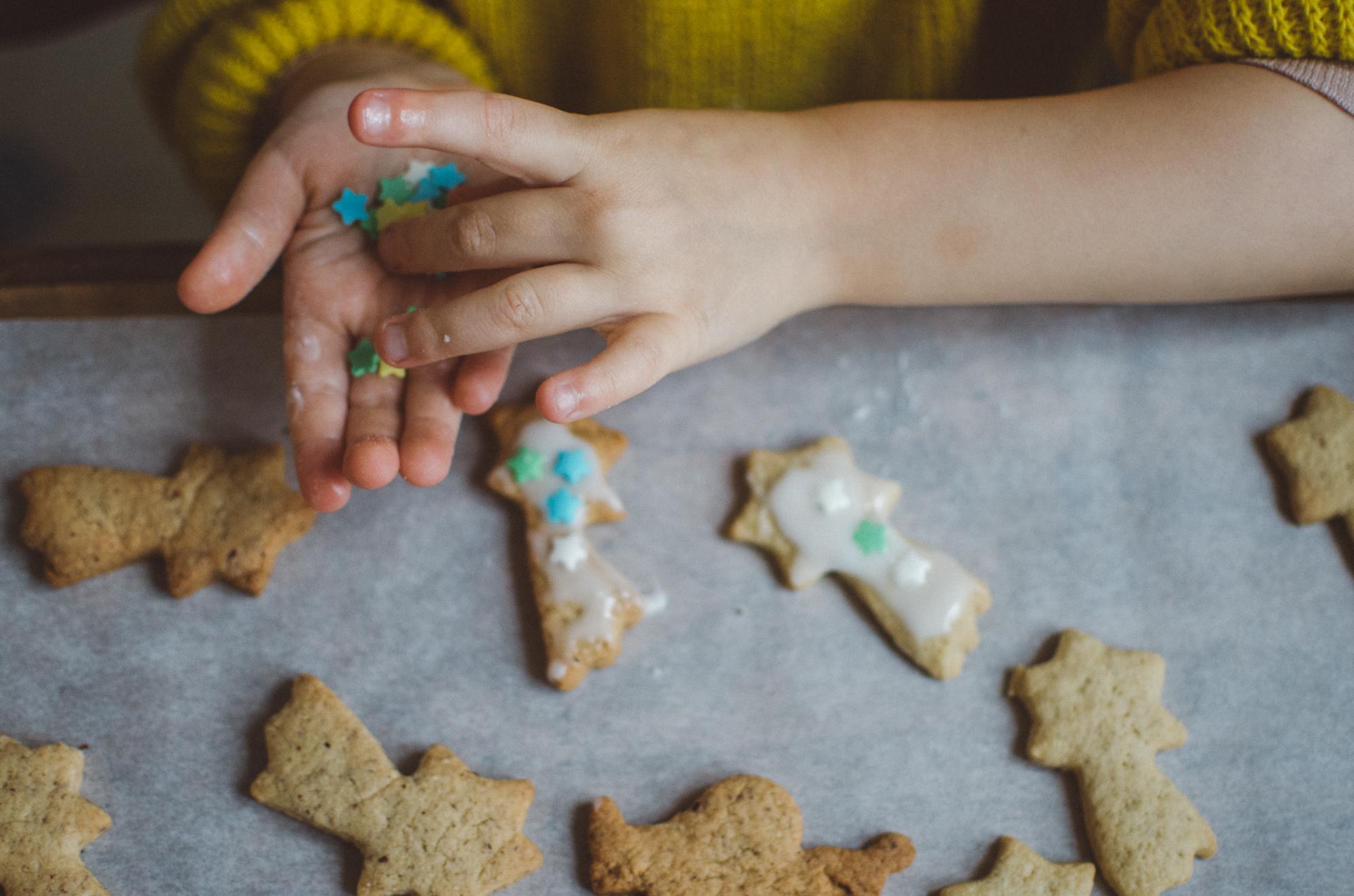 Zeit statt Geschenke schenken für Kinder, Adventskalender, Plätzchen backen