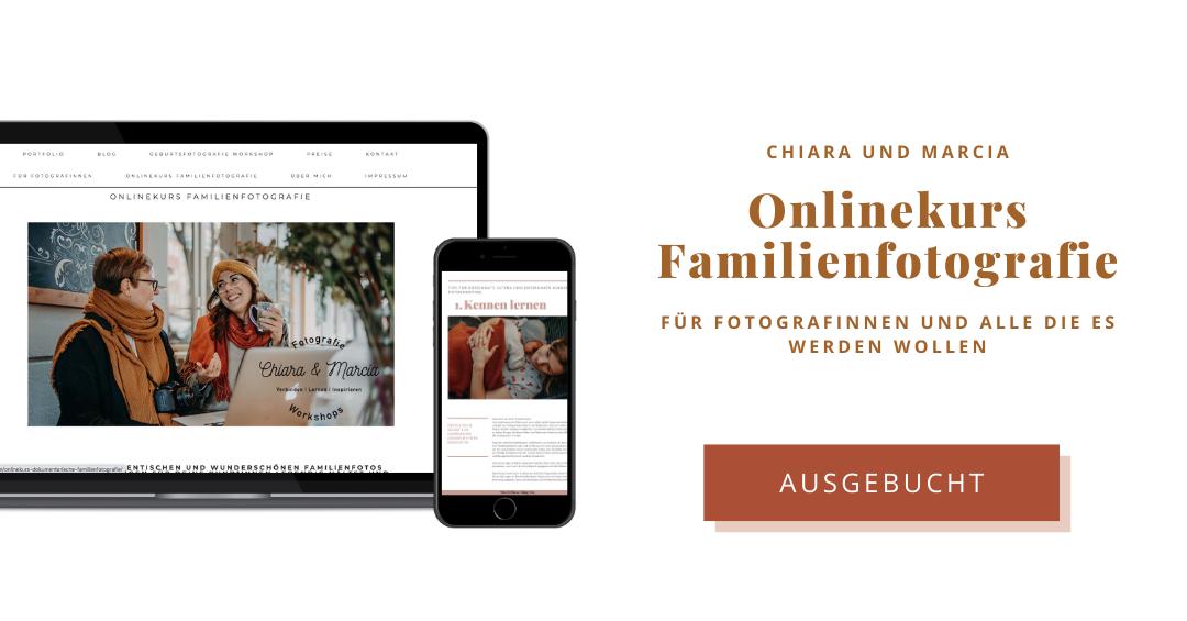 Ausgebucht Onlinekurs dokumentarische Familienfotografie