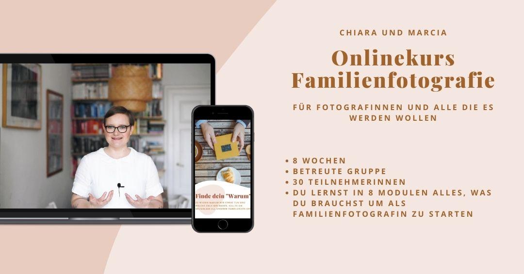 Onlinekurs Familienfotografie natürliche Kinderfotografie