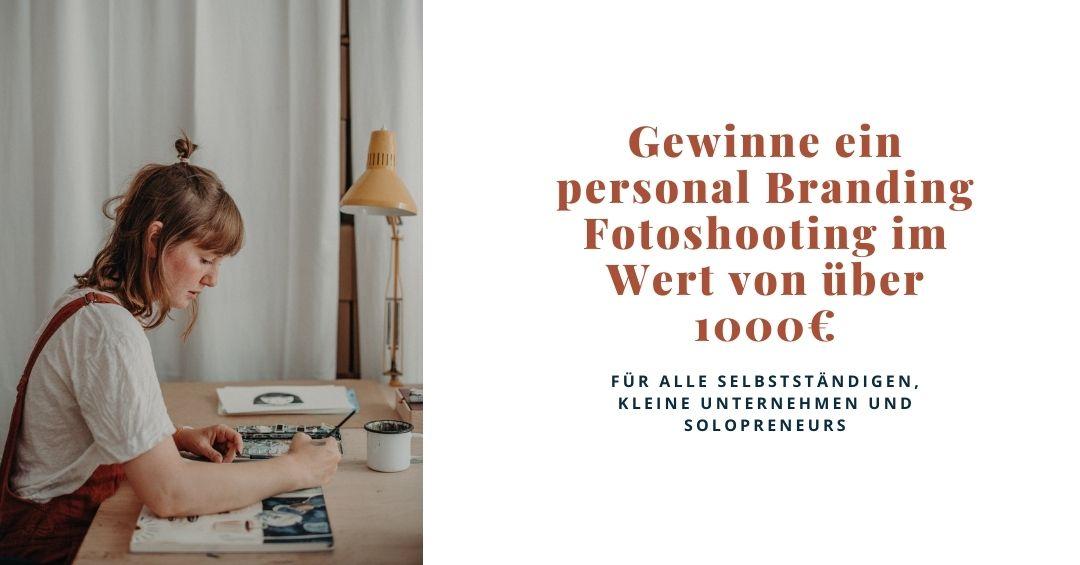 Giveaway personal Branding Fotoshooting Freiburg