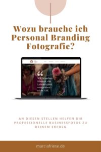 Pin Wozu brauche ich personal Branding Fotografie Basel