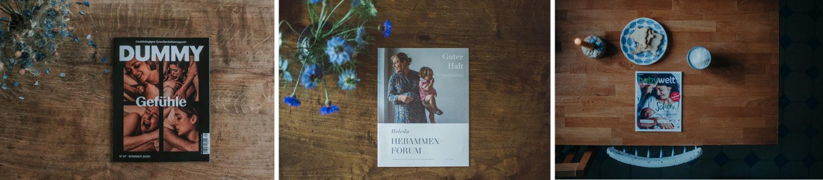 Veröffentlichungen Familienfotograf Basel Freiburg