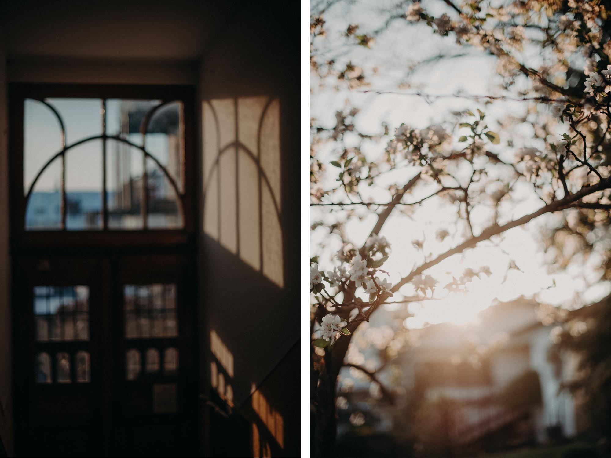 Zwei Fotos von Licht, Fotografin Freiburg