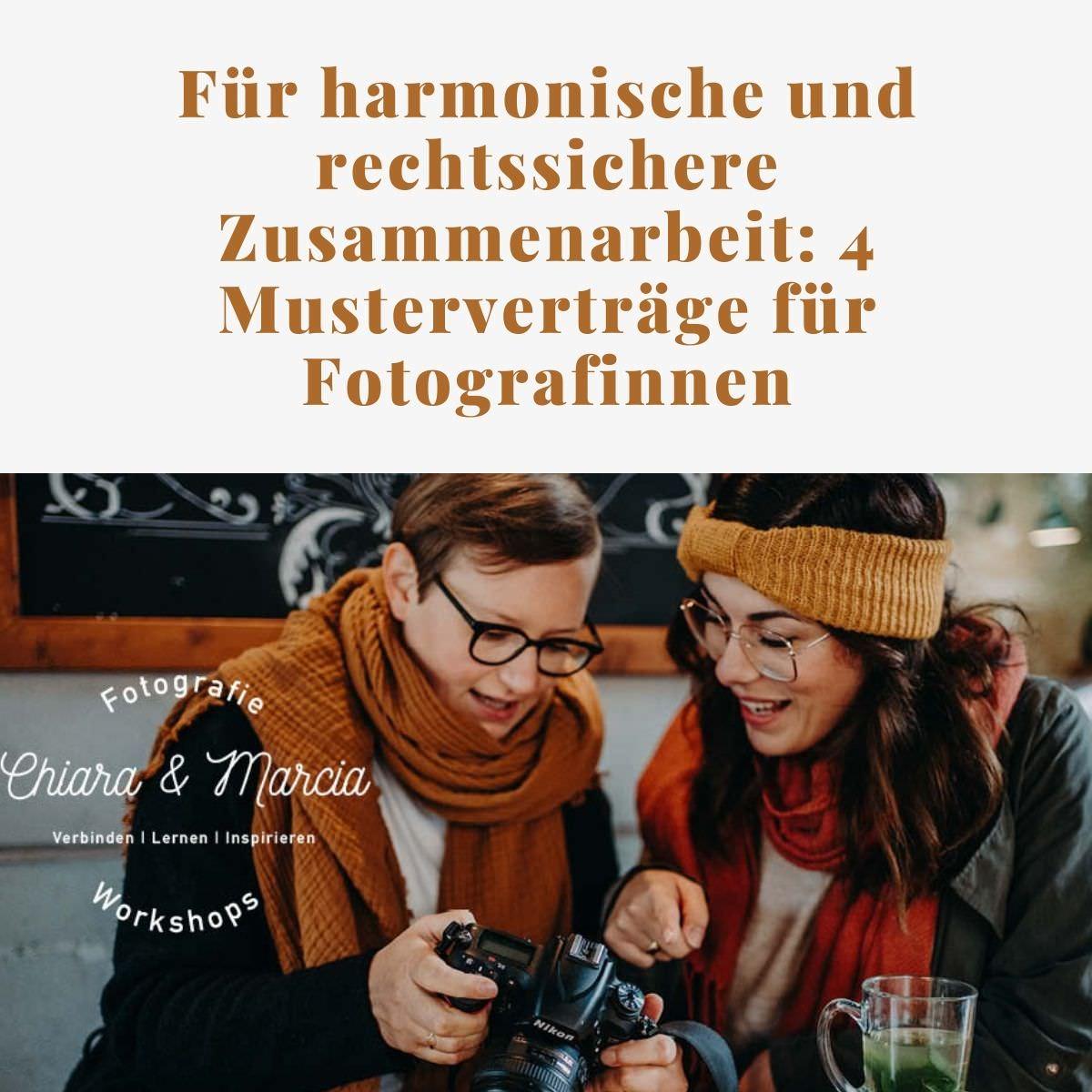 Verträge für Fotografen